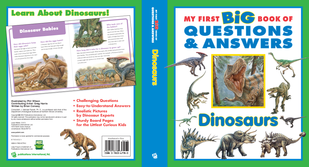 Q&A Dinosaurs covers