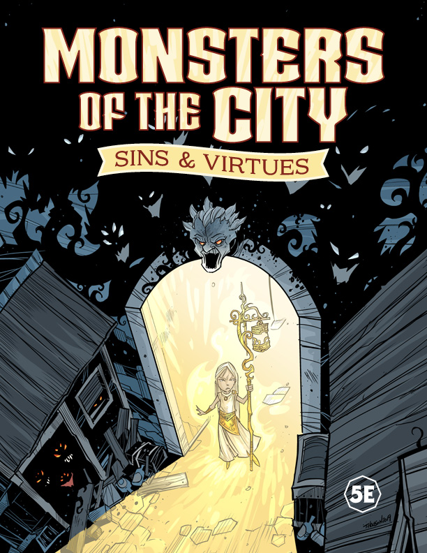 Monsters of the City cover